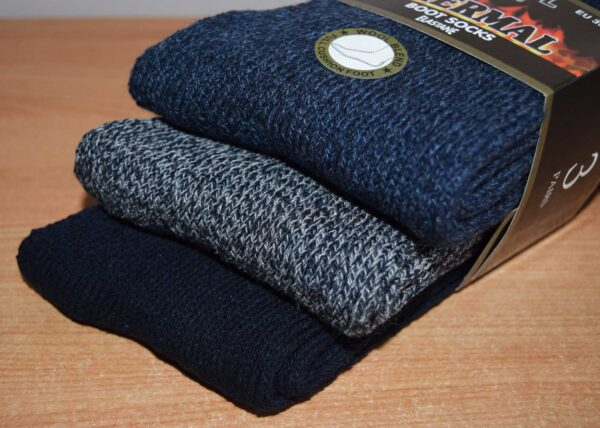 Wool blend thermal socks 6-11